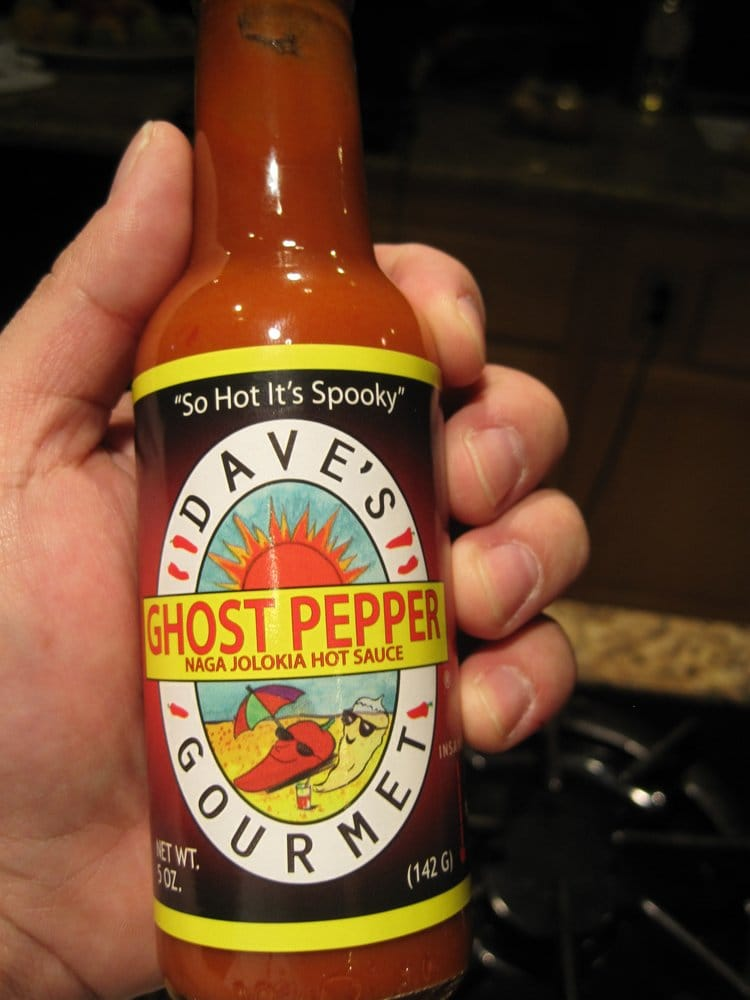 Dave S Gourmet Ghost Pepper Sauce It S Hot Yelp
