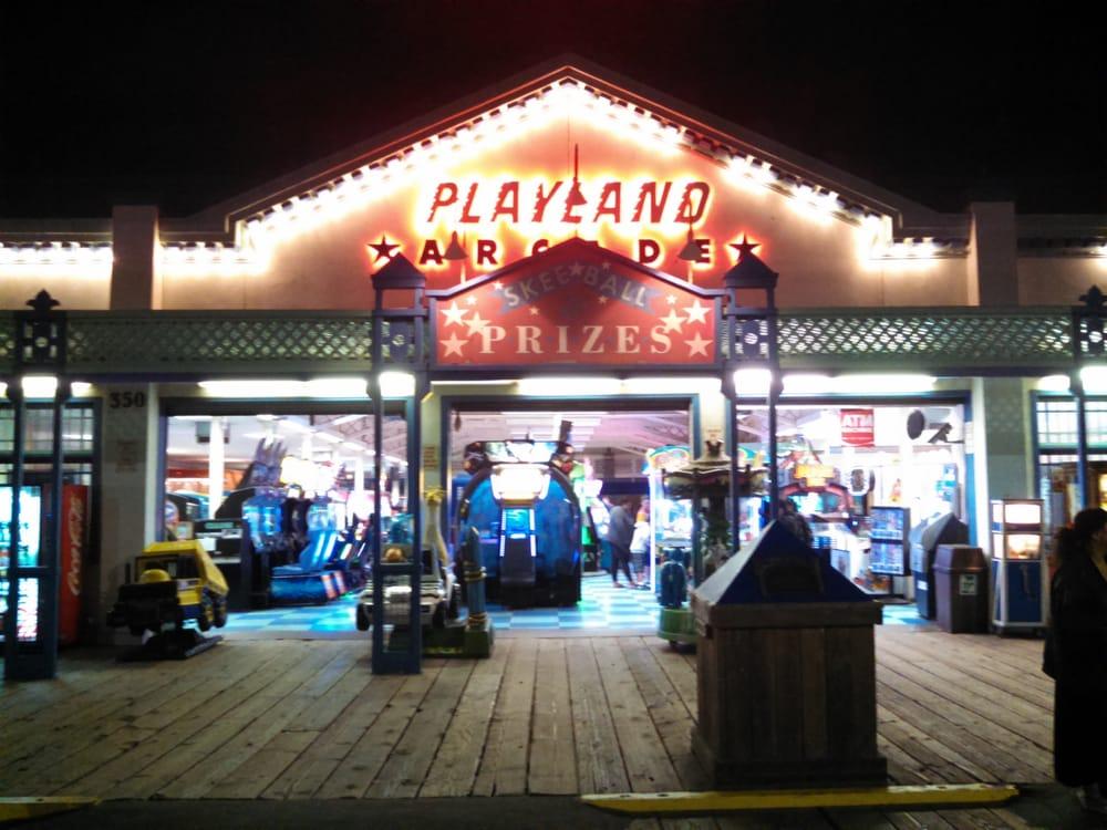 Playland Arcade: 350 Santa Monica Pier, Santa Monica, CA