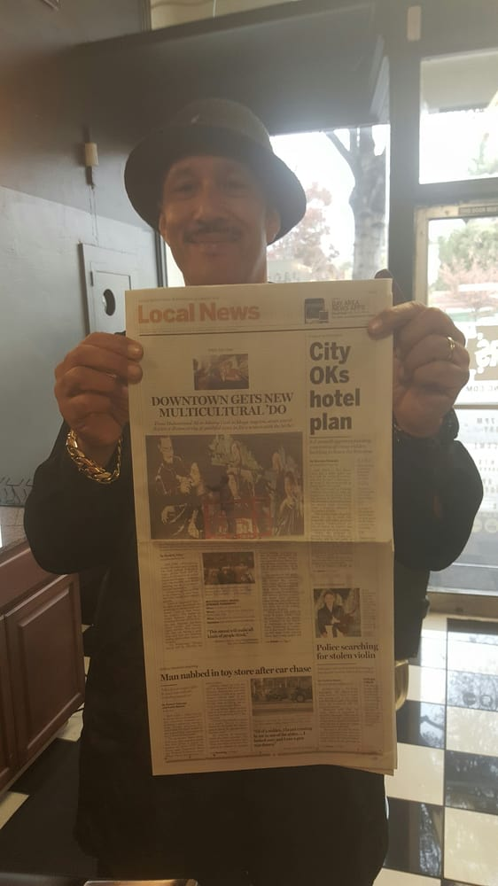 Mark Maxx on front page local newspaper - Yelp