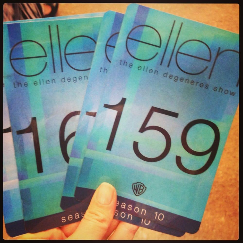 Ellen Show Tickets