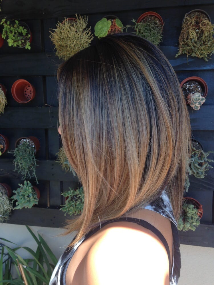 Great Cut And Color Bronde Long Bob By Jackie Yelp