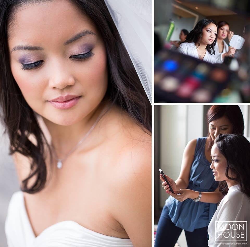 www.diemangienguyen chicago bridal hair and makeup artist