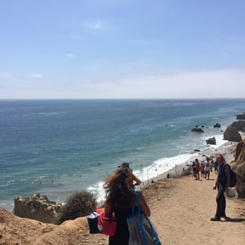 Photo Of El Matador State Beach Malibu Ca United States View Walking