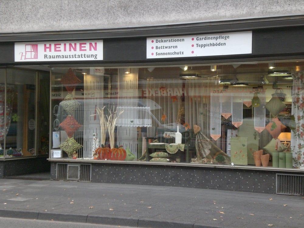heinen raumausstattung interior design berliner str. Black Bedroom Furniture Sets. Home Design Ideas