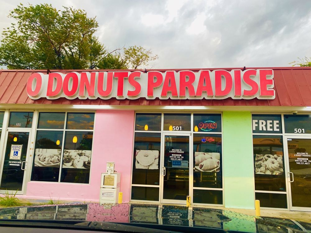 O Donuts: 501 East Wise St, Bowie, TX