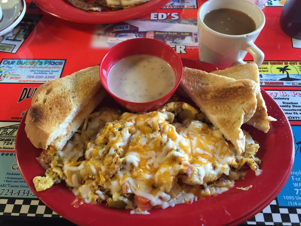 Ed's Diner: 1607 Morrell Ave, Connellsville, PA