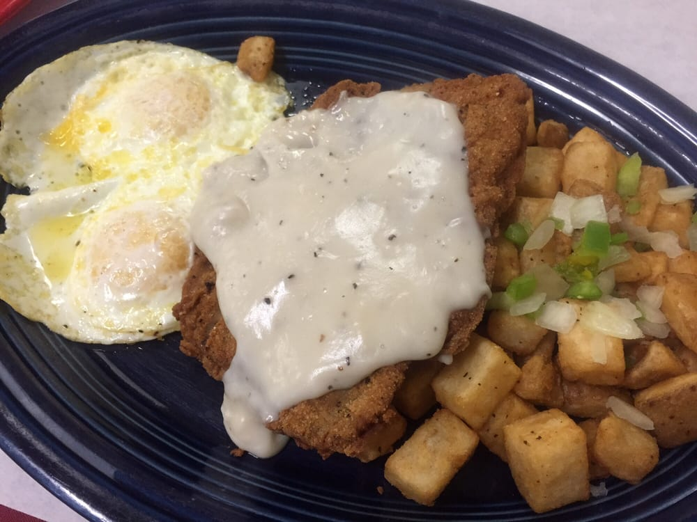 Photo of The Village Eatery - Glendora, CA, United States. Chicken fried steak!!!