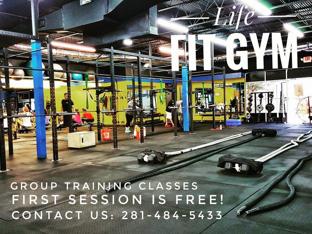 Life Fit Gym: 10570 Fuqua St, Houston, TX