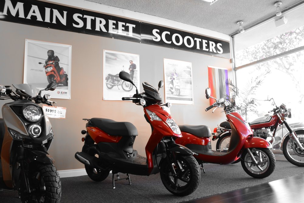 Main Street Scooters: 1643 University Ave, San Diego, CA