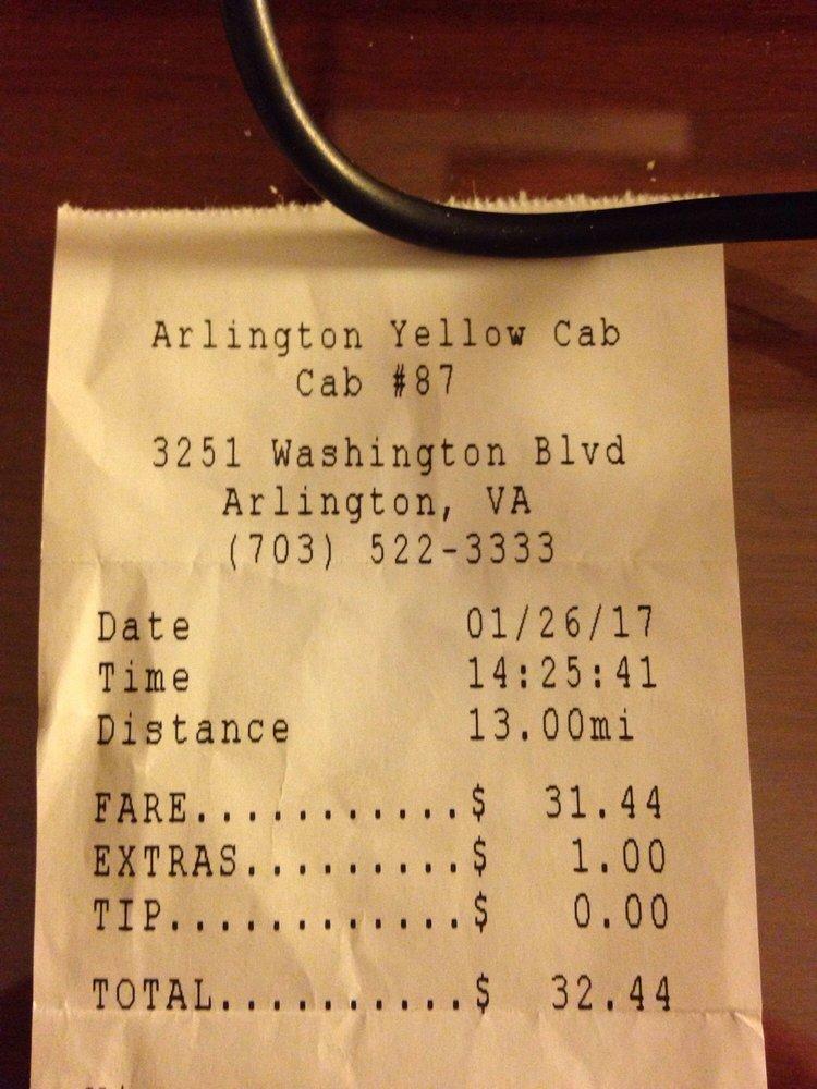 Yellow Cab Of Arlington 19 Reviews Taxis Arlington