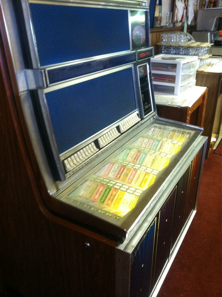 Old juke box yelp for Scotty s fish and chips