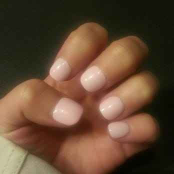 Photo Of Revive Nails Chicago Il United States Super Short Rounded