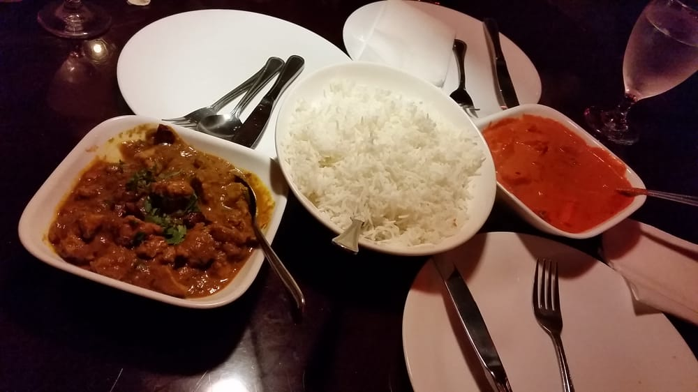 Chicken tikka massala andhra chicken curry yelp for Aroma indian cuisine concord nc
