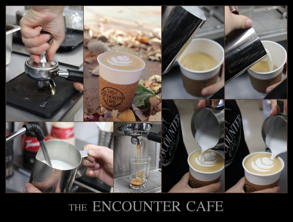 Food from The Encounter Cafe