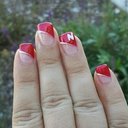 Photo Of Virgo Nail Studio La Vista Ne United States Husker Nails