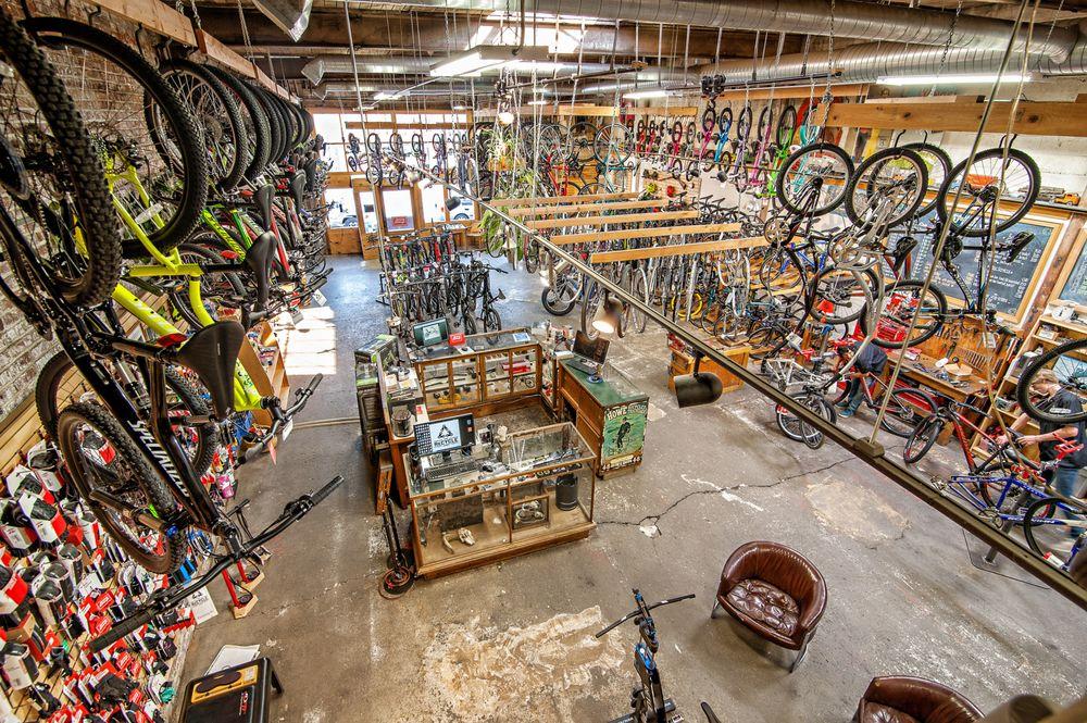 Recycle Bicycle Shop: 415 N Main St, Ellensburg, WA