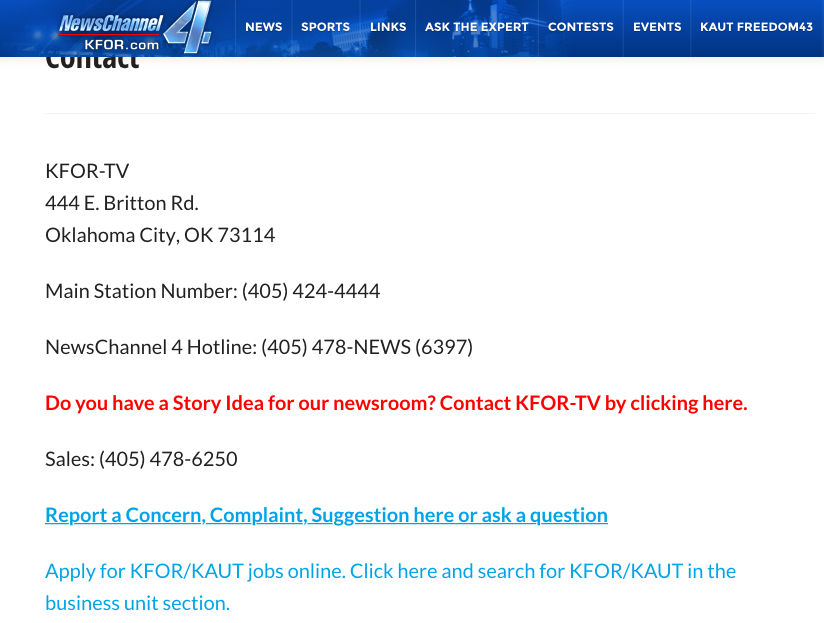 Kfor-Tv Oklahoma's Newschannel 4