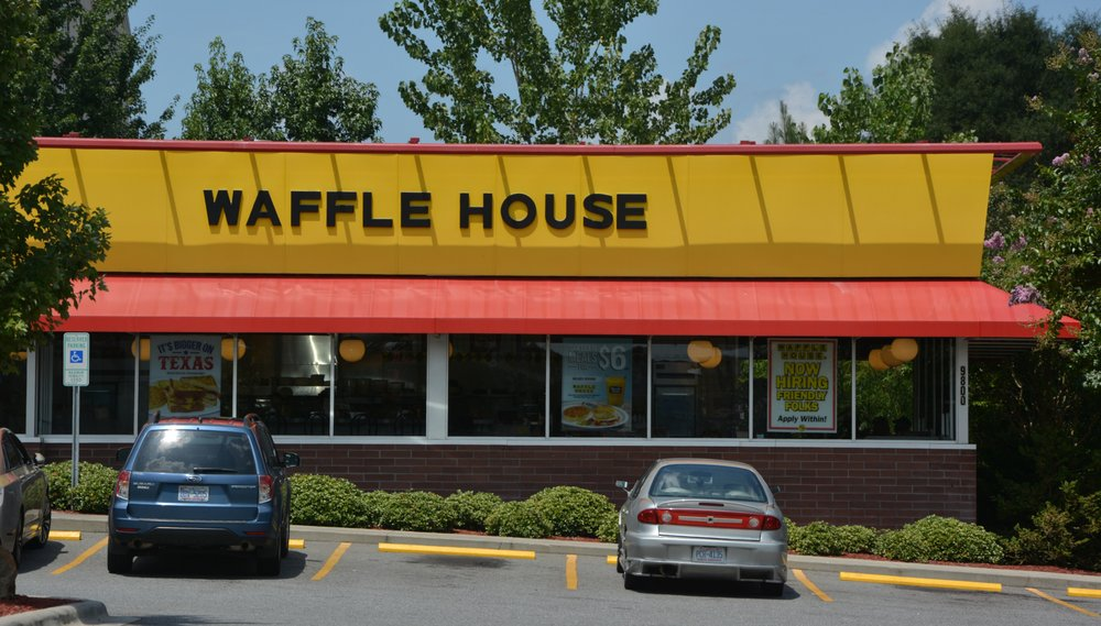 Waffle house. Specializing in Breakfast and Lunch. Delicious affordable food and pleasant service in a relaxed atmosphere.