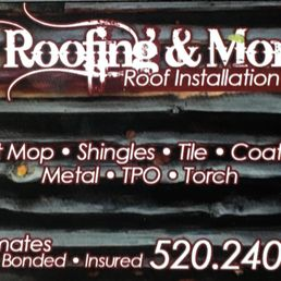 Ej Roofing Amp More Roofing Tucson Az Phone Number Yelp