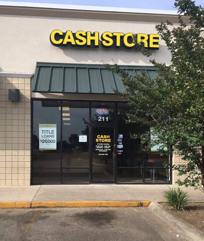 Cash Store: 211 Sparta Rd, Belton, TX
