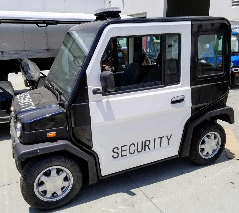 2017 Evolution Revolution Security Golf Cart - 48V AC Electric ... on delivery cart, gem food truck cart, street cart, van pool, pushing grocery cart, crazy cart,