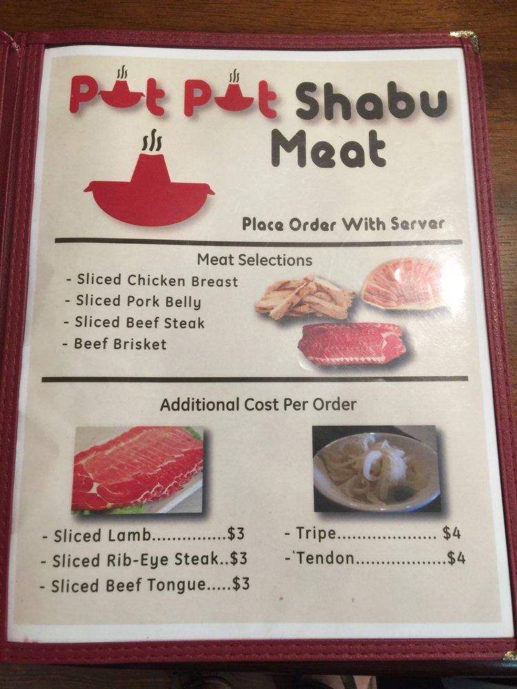 Pot Pot Shabu Ramen BBQ House
