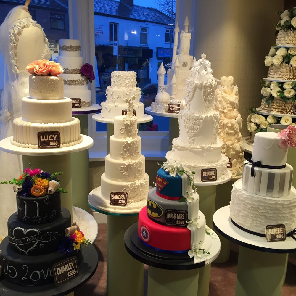A Selection Of Wedding Cakes On Display Yelp