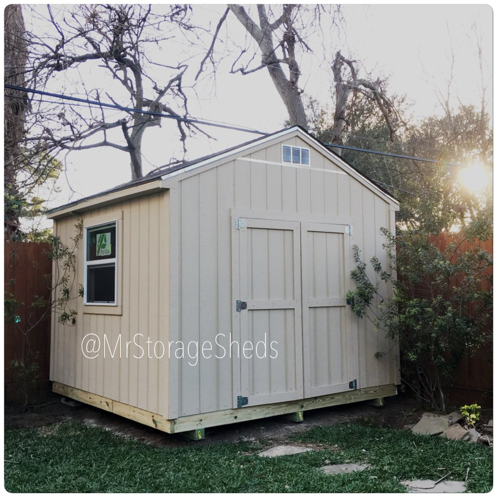 Mr. Storage Sheds: Houston, TX