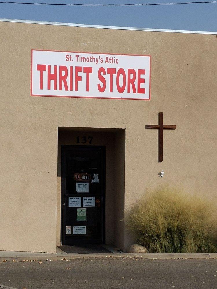 St Timothys Attic- Community Thrift Shop: 137 E Line St, Bishop, CA