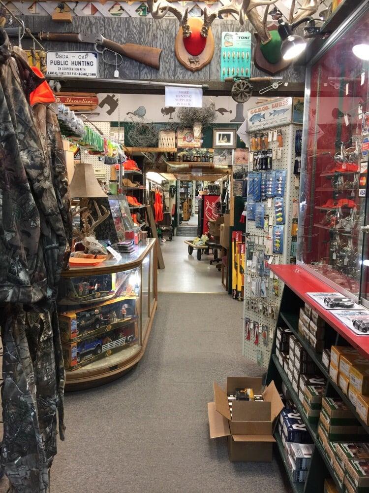 Baxter Hardware & Electric: 424 Main St, Stockton, KS