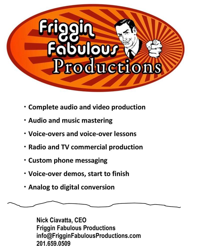 Friggin Fabulous Productions: Jersey City, NJ