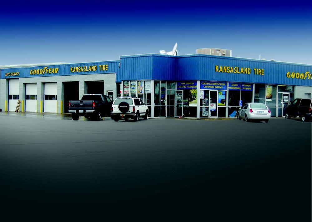 Kansasland Tire and Service: 730 E 8th St, Hays, KS