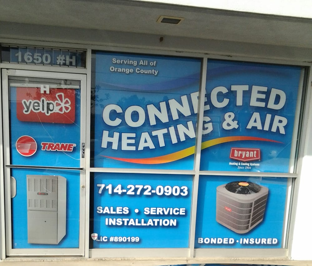 Connected Heating and Air Conditioning