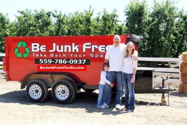 Be Junk Free: 2530 E Feemster Ave, Visalia, CA