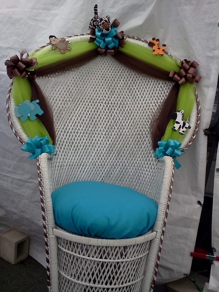 Photo Of Affordable Creations   National City, CA, United States. Baby  Shower Chair