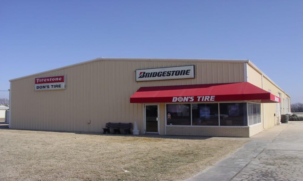 Don's Tire & Supply: 714 S Buckeye Ave, Abilene, KS