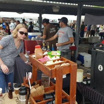 Urban harvest farmers market at eastside markets for Fresh fish market houston