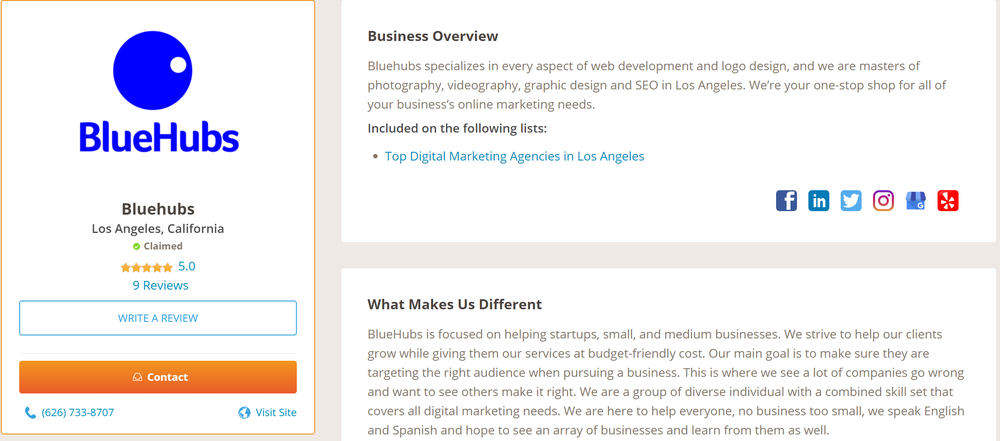 BlueHubs - Request a Quote - 15 Photos - Marketing - 777 S