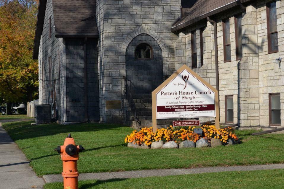 Potter's House Church of Sturgis: 210 E Congress St, Sturgis, MI