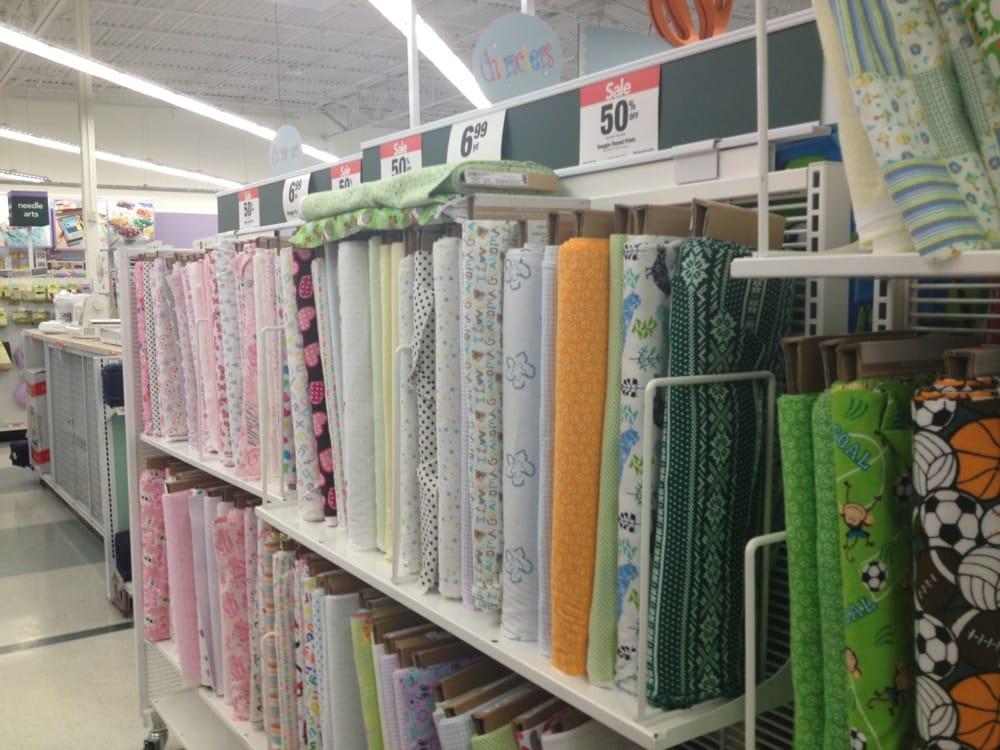 Jo ann fabric and craft fabric haberdashery 1163 for Joann craft store near me