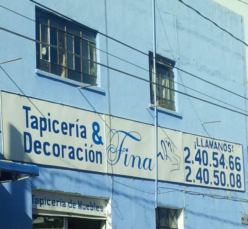 Tapicer a y decoraci n fina 23 pte esquina 5 sur - Tapiceria y decoracion ...