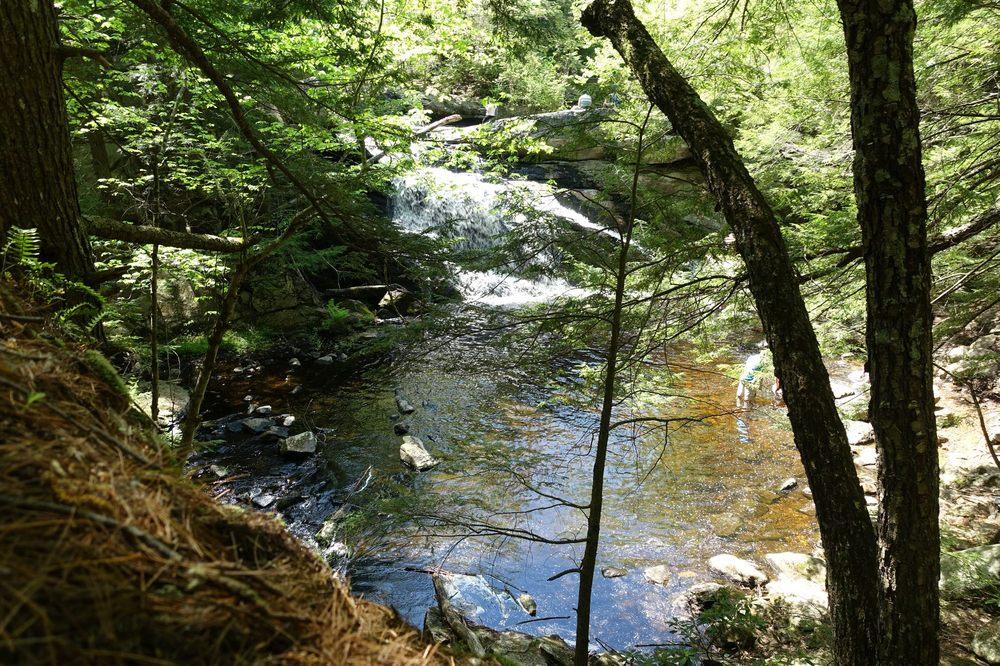 Purgatory Brook and Falls: Mont Vernon And Lyndeborough, Hillsborough, NH