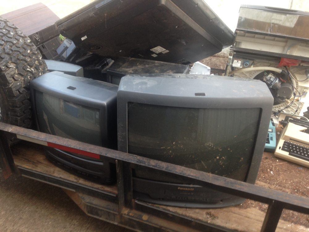 We also haul away old tv's for FREE! - Yelp