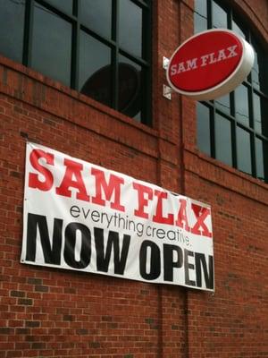 sam flax coupon atlanta