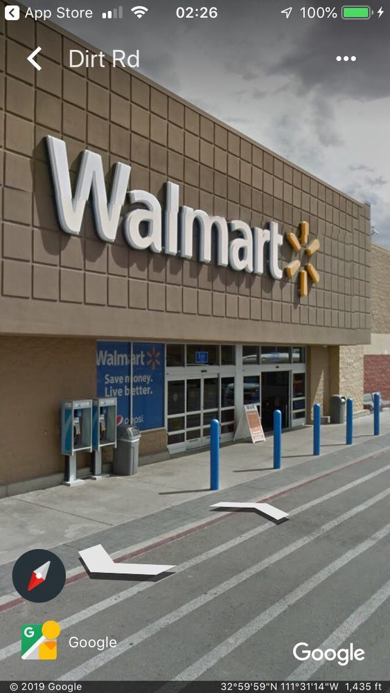 Walmart Supercenter: 1695 N Arizona Blvd, Coolidge, AZ