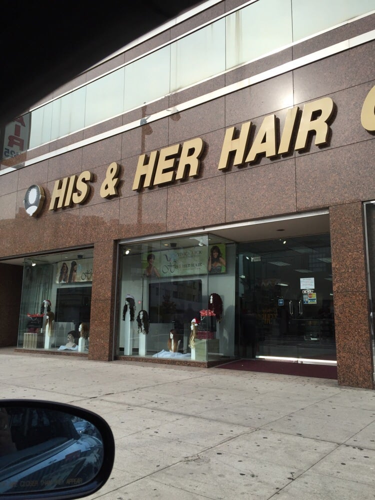 His and Hers Hair Goods - Yelp