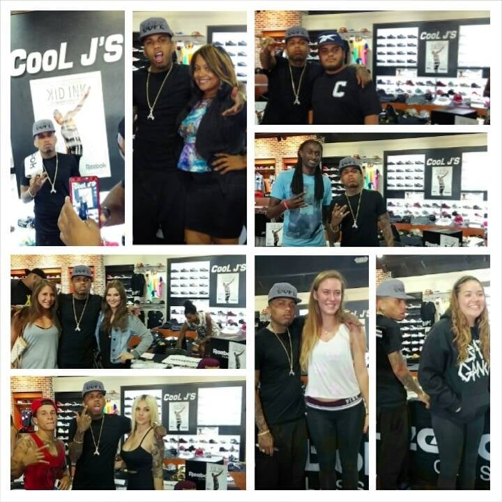 Kid ink x reebok x cool js meet and greet yelp photo of cool js miami gardens fl united states kid ink x m4hsunfo