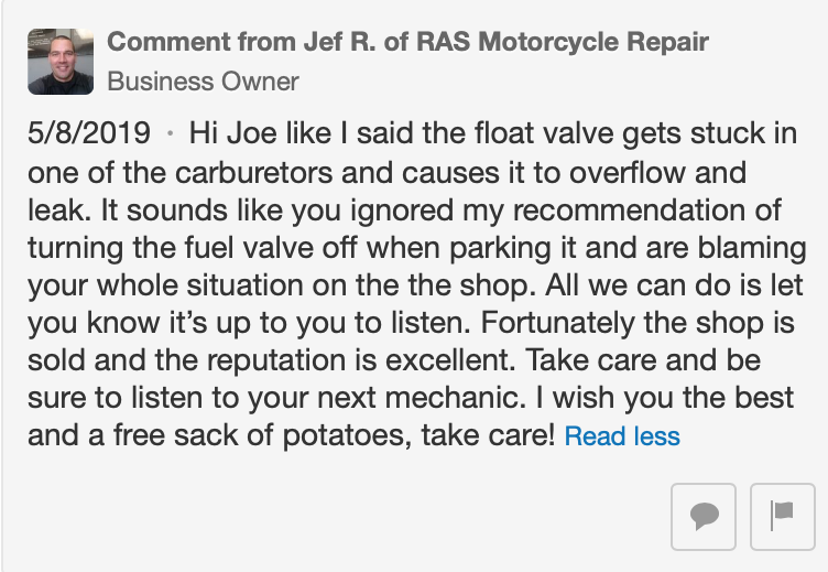 Yelp Reviews for RAS Motorcycle Repair - 20 Photos & 31 Reviews