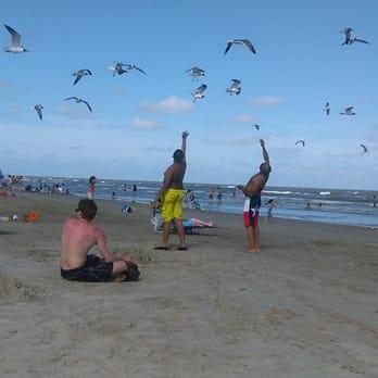 Photo Of Beach Galveston Tx United States O