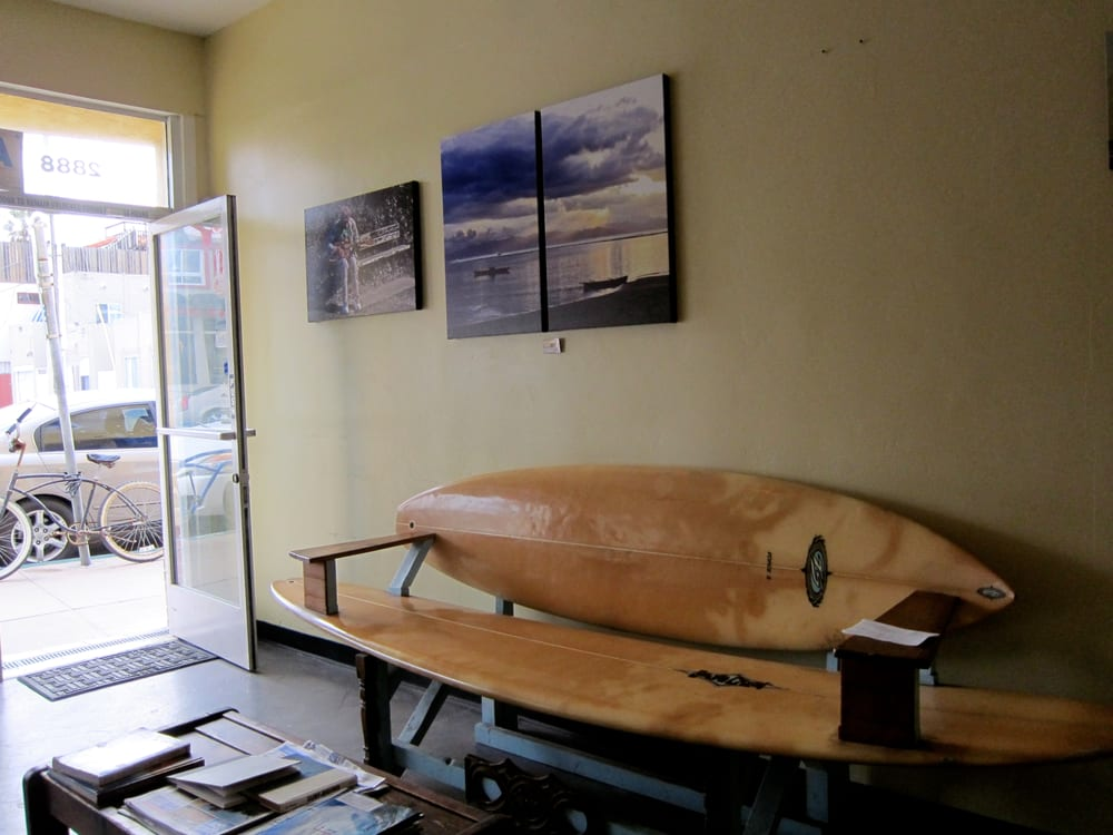 the surfboard bench yelp